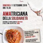 Un'amatriciana della solidarietà organizzata dalla Parrocchia di Santo Stefano a Gaeta